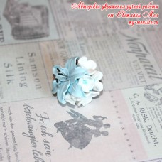 """Кольцо """"Голубая лилия"""""""